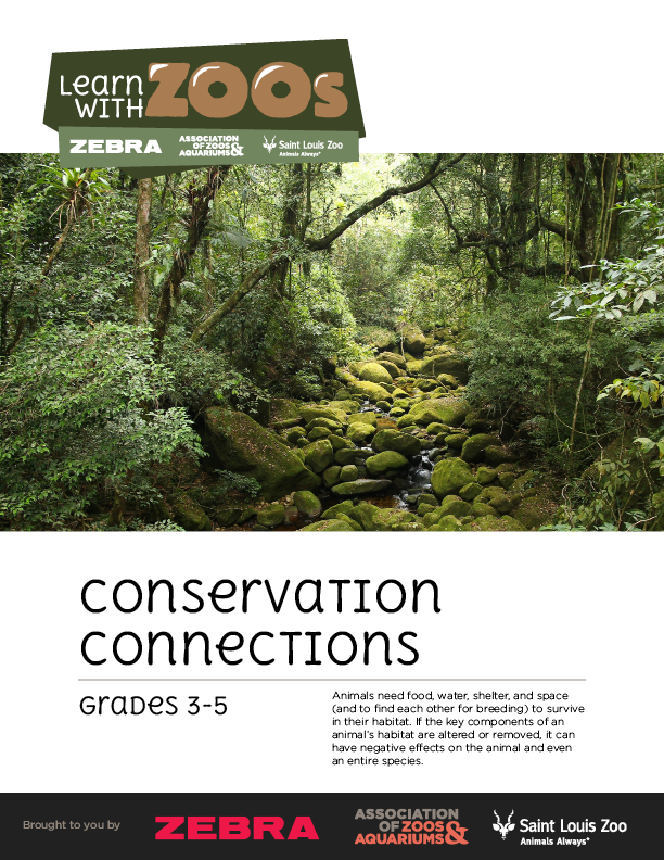 Conservation Connection Lesson Plan 3-5
