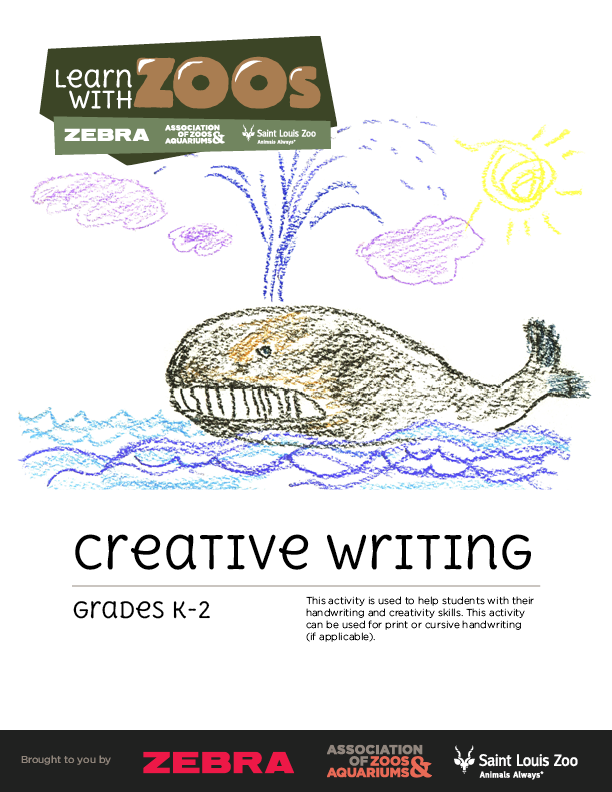 Creative Writing K-2